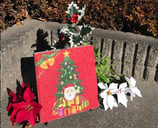 クリスマス 庭 飾り