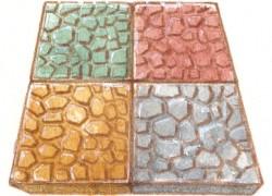 平版ブロックでお庭の雑草予防