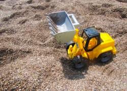砂場をつくろう